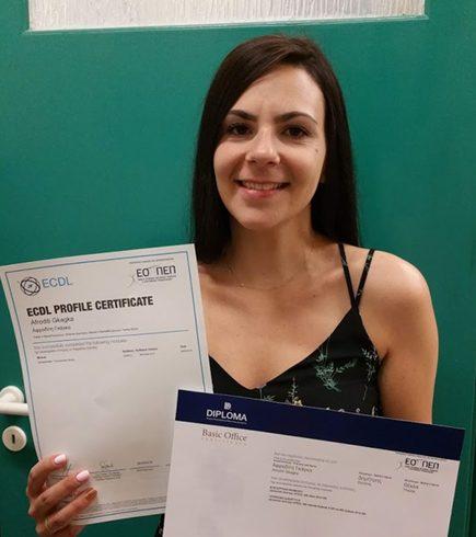 Αφροδίτη Γκάγκα - ECDL Core+ & Diploma Basic 3 Ενότητες
